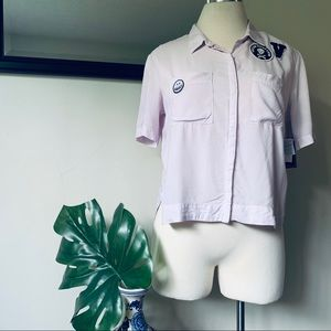 Volcom Lavender Stone Resort Button Down Shirt